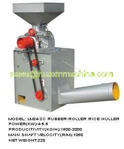 LM24-2C Rubber-Roller Rice Huller--Rice-machine--ShanDong HuaXin